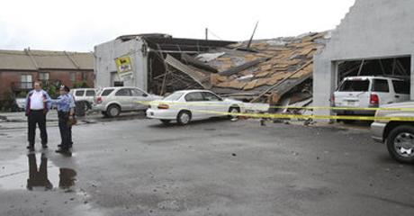 Tornado In Northest Of Philadelphia