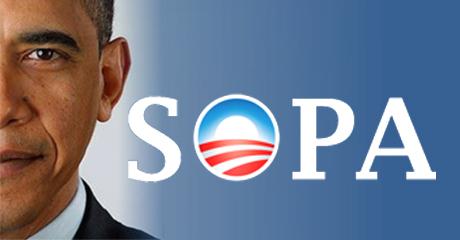 Tell Obama to Stop Supporting SOPA 2