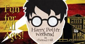 Chestnut Hill Transforms for Harry Potter Weekend