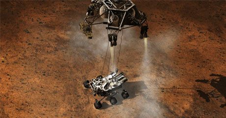 Mars Rover Reports Weather, Radiation Data