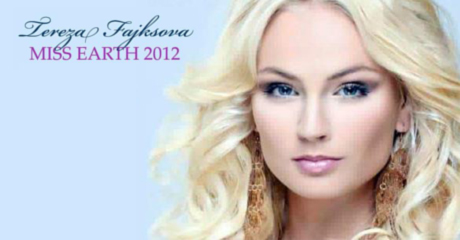 Tereza Fajksova Was Crowned As The Miss Earth-2012