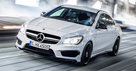 2014 CLA 45 AMG at Mercedes-Benz Comes to US