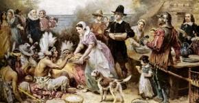 Thanksgiving Giving Thanks for America's Bounty