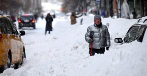 First Major Snowstorm Of 2014 in Philadelphia