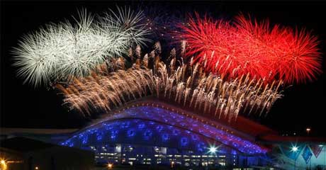 The XXII Olympic Winter Games Openning in Sochi