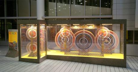 K'NEX® Philadelphia Airport Display Fascinates Visitors