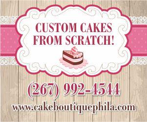 Cake Boutique - Homemade