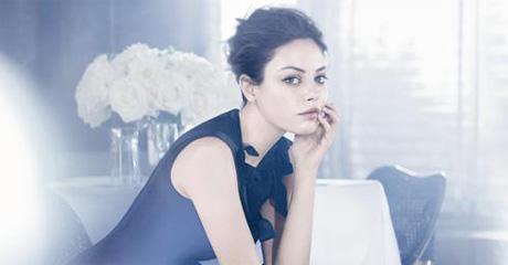 Мила Кунис - новое лицо Christian Dior.